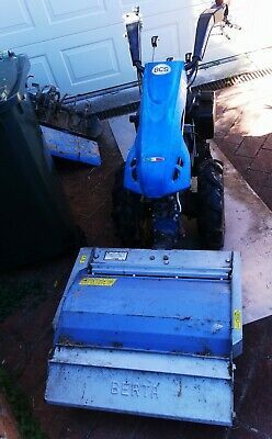 AU7300 • Buy BCS PowerSafe 740 Diesel Tractor Come With Flail Mower And Rotary Hoe
