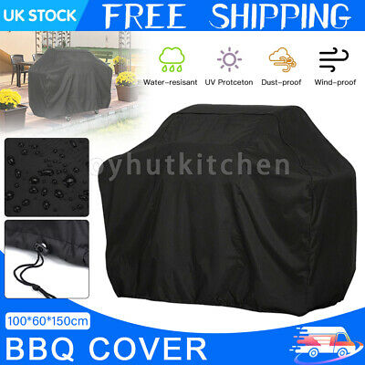 £7.99 • Buy 100CM BBQ Cover Heavy Duty Waterproof Rain Barbeque Grill Gas Garden Protector
