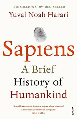AU19.99 • Buy Sapiens A Brief History Of Humankind By Yuval Noah Harari .Paperback Book NEW AU