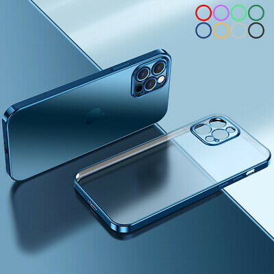 AU2.99 • Buy For IPhone 13 12 11 Pro Max XS 8 7 Plating Soft TPU Shockproof Clear Case Cover