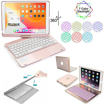 AU66.49 • Buy Smart Case Cover Stand With Bluetooth Keyboard For IPad 7th/8th/9th Gen 10.2 Air