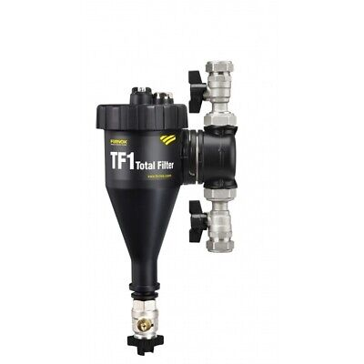 £88.95 • Buy Fernox TF1 Total Magnetic Filter 22mm Central Heating Sludge Remover - CLEARANCE