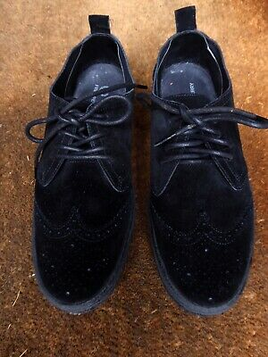 £45 • Buy Fred Perry Black Suede Linden Brogues Mod Classic Worn Once Size 8