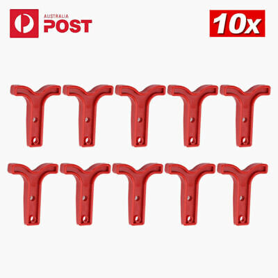 AU13.28 • Buy 10x Red T Bar Handle For Anderson Style Plug Connectors Tool 50AMP 12-24v 6AWG