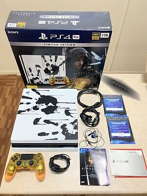 AU750 • Buy Ps4 Pro Death Stranding Limited Edition Console