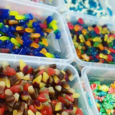 £3.15 • Buy Pick N Mix RETRO SWEETS CANDY Wedding Favours Kids Treats Haribo PICK AND MIX