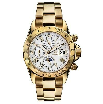 £416.14 • Buy Andre Belfort - Le Capitaine - Man's Watch - Gold - Automatic - Rrp €1750