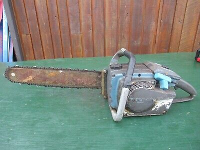 £94.56 • Buy Vintage HOMELITE Chainsaw Chain Saw With 16  Bar With Log Spike