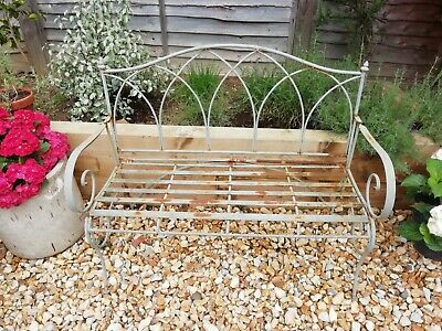 £150 • Buy Vintage French Wrought Iron Garden Bench