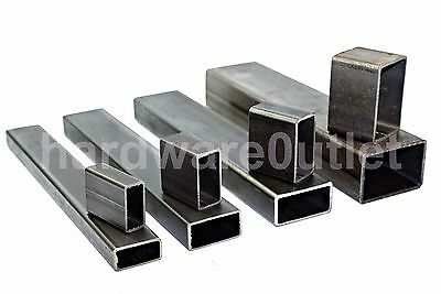 £5.97 • Buy XRECTANGULAR Mild Steel BOX Section Tube Rectangle 5 Sizes & 6 Lengths Available