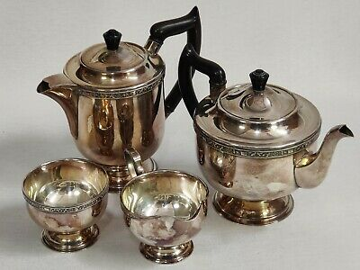 £24.99 • Buy Viners Of Sheffield Silver Plate Four-Piece Tea Set