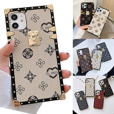 AU13.99 • Buy For IPhone 12 13 11 Pro Max XS 6 7 8 Trunk Case Luxury Leather Soft TPU Cover