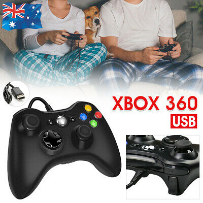 AU26.99 • Buy XBOX 360 Wired/Wireless Game Controller Gamepad For MS XBOX 360 Console Windows