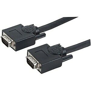 £18.15 • Buy Manhattan Vga A/V Cable For Audio/Video Device Monitor Splitter Kvm Switch