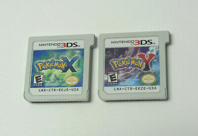 $79.66 • Buy Nintendo 3DS POKEMON X & Y TESTED SAVES AUTHENTIC VG Condition FAST SHIPPING 2DS