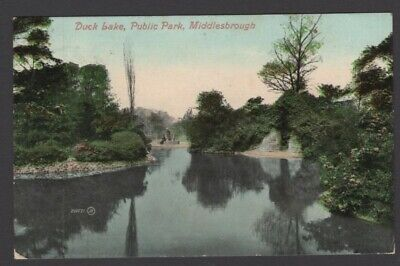 £2.75 • Buy MIDDLESBOROUGH,  Duck Lake, Public Park, Yorkshire  - Posted 1909 - Ref:1790