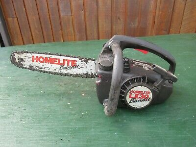£36.36 • Buy Vintage HOMELITE LX30 BANDIT Chainsaw Chain Saw With 12  Bar