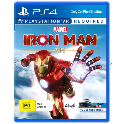 AU33 • Buy Iron Man VR - PS4 - Brand New Free Shipping
