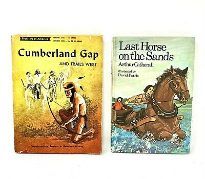 £7.22 • Buy Vintage Children Books! Last Horse On The Sands, Cumberland Gap And Trails West