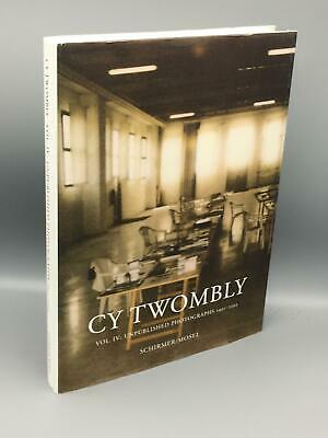 £40.53 • Buy Agamben, Giorgio; Cy Twombly: Unpublished Photographs 1951-2011 Vol IV; Hardcov