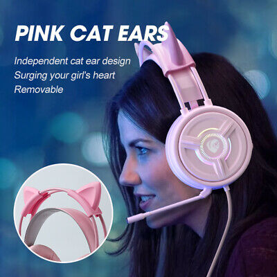 AU28.66 • Buy Noise Canceling Headset Wired Gaming Headphones With Mic Fit For Xbox PS4 NEW AU