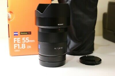 AU645 • Buy Sony Zeiss Sonnar T 55mm F/1.8 FE ZA Lens Excellent Condition