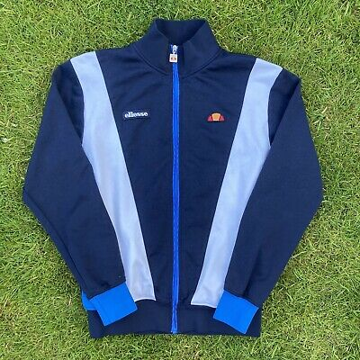 """£15 • Buy Ellesse Vilas Bergatino Track Top 21"""" Pit To Pit THE FIRM BUSINESS 80s CASUAL"""