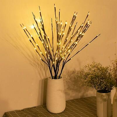 £9.99 • Buy LED Willow Branch Lights Lamp Willow Twig Lighted Branch Christmas Wedding Decor