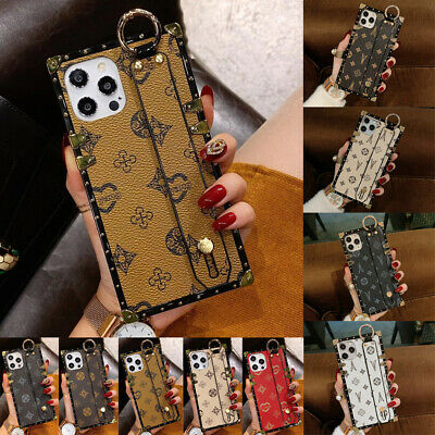 AU13.99 • Buy For IPhone 12 11 Pro Max XS XR 6 7 8 Case Luxury Leather TPU Cover Wristband