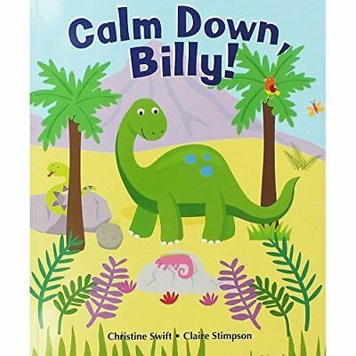 £2.79 • Buy Large Childrens Bedtime Story Calm Down Billy Dinosaur Picture Book Kids Gift 28