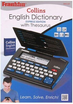 £8.99 • Buy Damaged Box  - Franklin DMQ221 Collins English Dictionary With Thesaurus