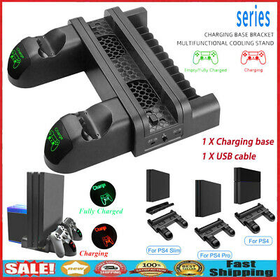 AU53.86 • Buy Fan For PS4/Pro Game Accessories Play Station 4 Host Cooling Fan & Charging Dock