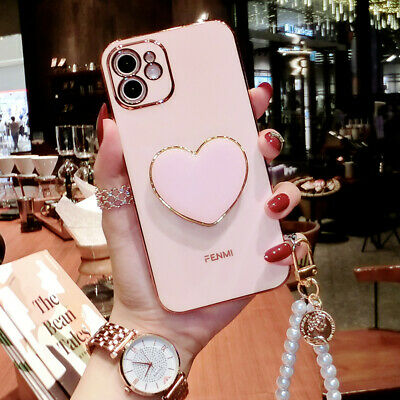 AU13.67 • Buy Girl's Cute Shockproof Holder Case W/ Strap For IPhone 12 11 Pro XS Max XR 7 8
