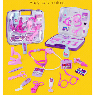 £8.86 • Buy Kids Childrens Role Play Doctor Nurses Toy Medical Set Gift Hard Carry Case
