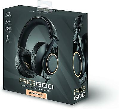 AU38.16 • Buy Gaming Headset Plantronics Rig 600 For PC PS4 PS5 XBOX Mobile With Mic