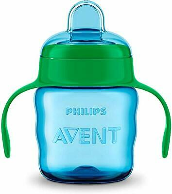 £6.99 • Buy Avent Easy Sip Spout Cup With Handle, 200 Ml - Blue/Green - SCF551/15