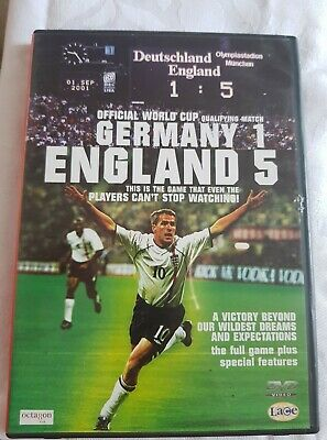 £1.49 • Buy DVD Football World Cup Qualifier Germany 1 England 5 Nostalgia Football Gift