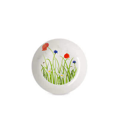£10.75 • Buy Mepal Flow Melamine Deep Plate, Fields Of Flowers Summer Picnic Holiday Camping