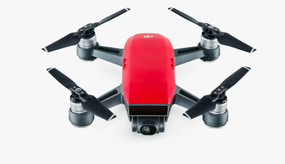 AU344.99 • Buy Dji Spark Fly More Combo - Lava Red With Travel Case.