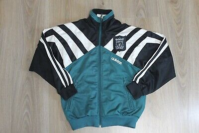 £34.99 • Buy Liverpool Vintage Jacket Track Top Green Adidas 1995 1996 Size D152 Boys Youth