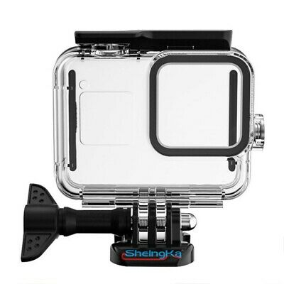 AU23.99 • Buy For Go-Pro Hero 9 Black Waterproof Case Cover Protective Underwater Dive Housing