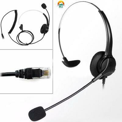 £11.43 • Buy 1Pcs Noise Cancelling Headphone Microphone Headset  Call Centre Office Telephone