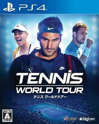 AU89.82 • Buy Tennis World Tour Sony Playstation 4 PS4 Games From Japan Tracking NEW