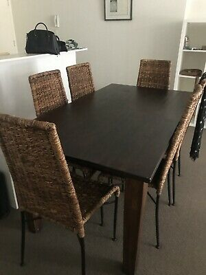 AU200 • Buy Dining Tables And 6 Chairs In Great Condition