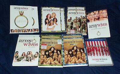 £196.41 • Buy Army Wives: Complete Series DVD Set = Seasons 1-7   With Slipcovers