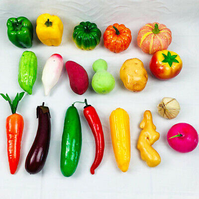 £1.58 • Buy Artificial Vegetables Fake Chili Photography Props Craft Ornament Home Decor