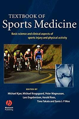 £106.68 • Buy Textbook Of Sports Medicine: Basic Science And Clinical Aspects Of SPORTS Injury