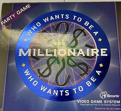 £9.11 • Buy Senario Who Wants To Be A Millionaire Plug Into TV Video Game System. Party Game