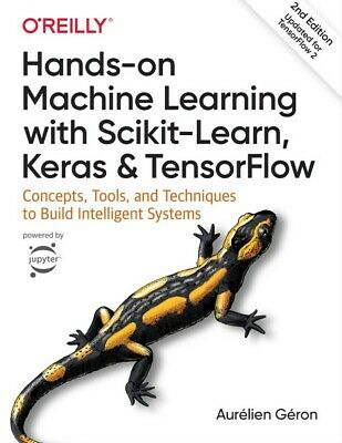 £32.99 • Buy Hands-on Machine Learning With Scikit-Learn, Keras, And TensorFlow