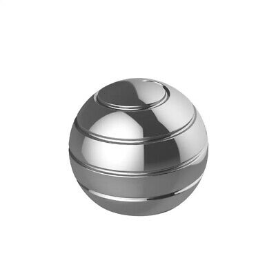 £10.49 • Buy Kinetic Desk Toys, Optical Illusion Rotating Ball Office Stress Toys Metal 2021
